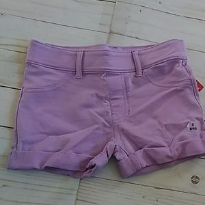 Stretch Pull On Pre-Cuffed Shorts - S (6/6x)